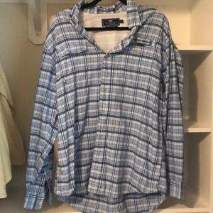 Vineyard Vines Blue Plaid Harbor Shirt